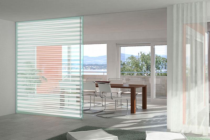 Ganzglas Schiebetüren | Julius Fritsche GmbH - Glas, Metall, Kunststoff