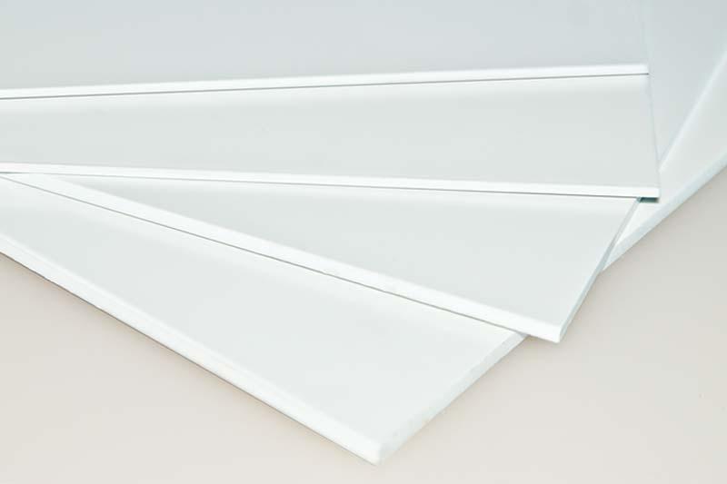 Fripoly Polystyrol Kunststoff Werbeplatten
