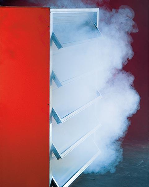 Natürliches Rauch Und Wärmeabzugsgerät (NRWG) SmoTec Rauchfenster