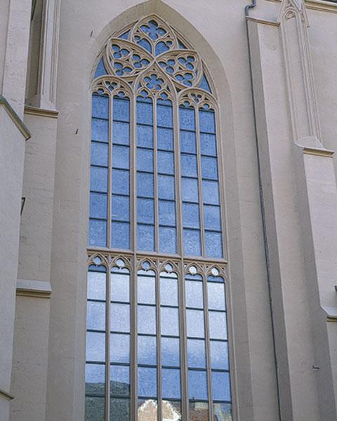 antikglas fenster restauration kirche