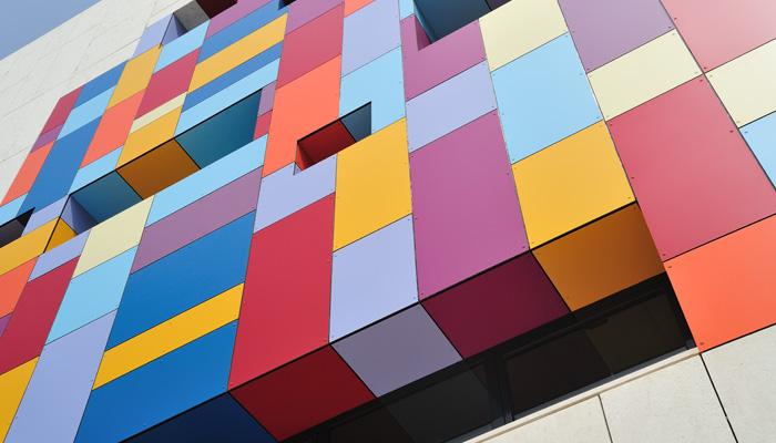 Trespa Fassadenfarbe
