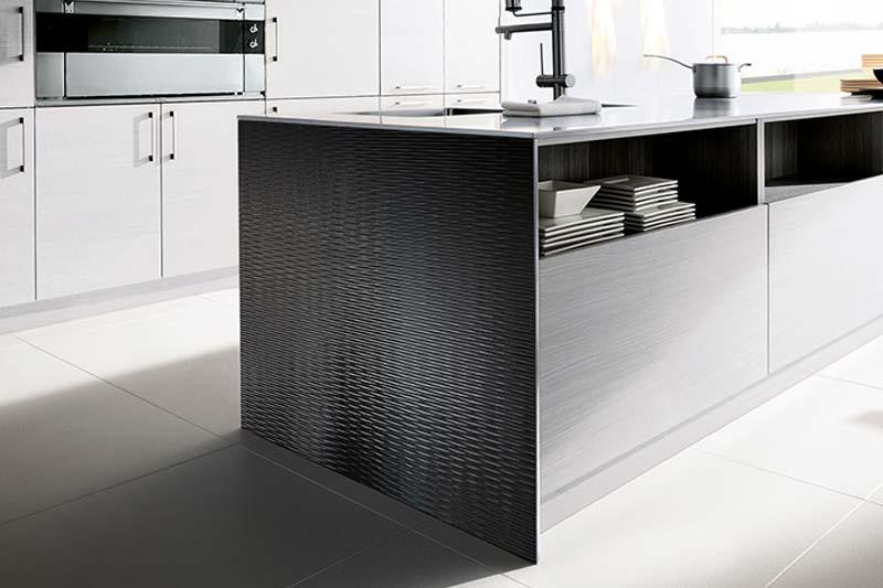Sibu Design Kunststoffplatten Kunststoffverkleidung Schwarz Kueche