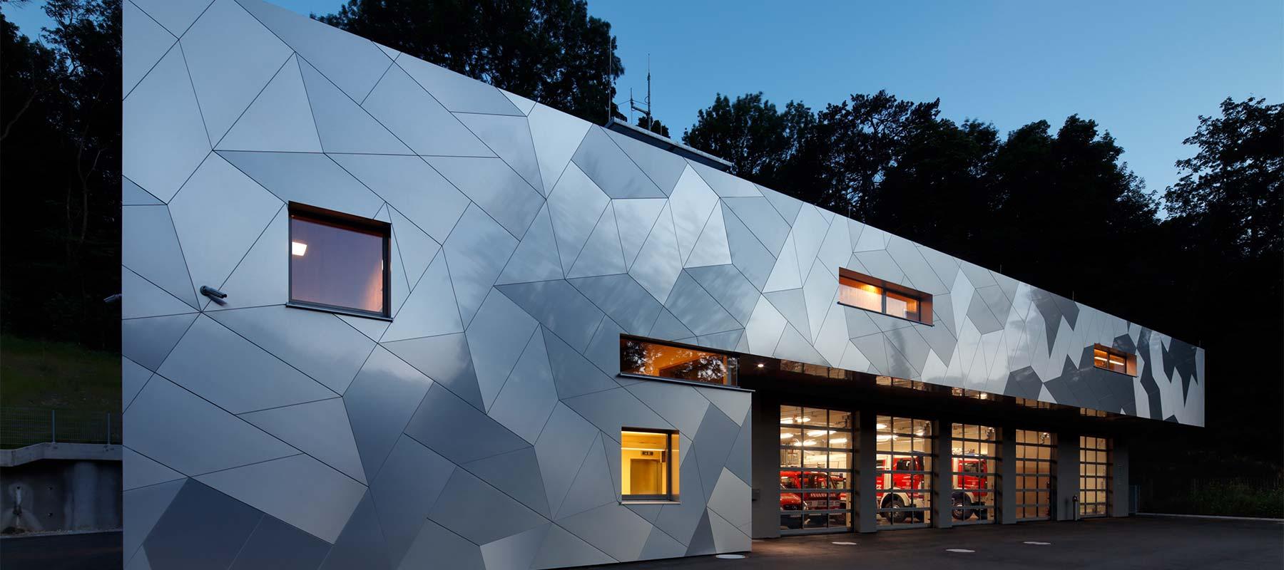 Slider Etalbond A3 Brandschutz Fassadenplatte