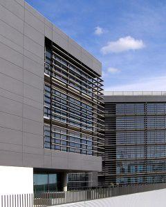Termolac Kantabares Farbaluminiumbleche Stueckpulverbeschichtet Fassadenplatte