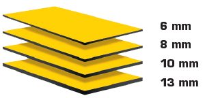 trespa meteon fassadenplatten stärke dickenangabe
