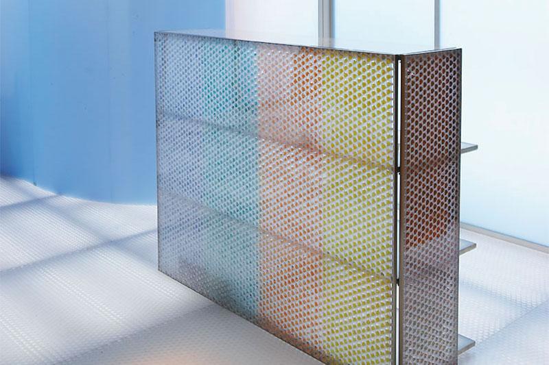 Verkaufsstand Design Kunstoffplatten Clear Pep