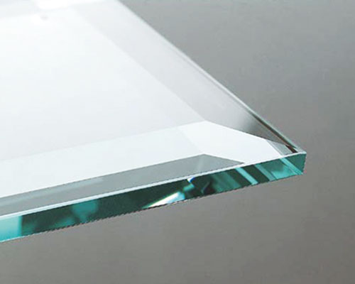 Glasbearbeitung Kantenbearbeitung Facette