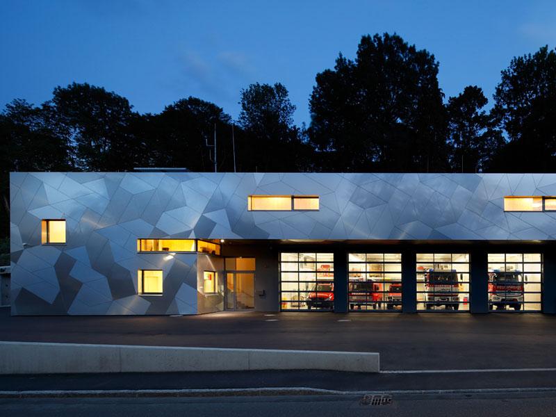 Etalbond Brandschutzfassadenplatten Aluminium Design