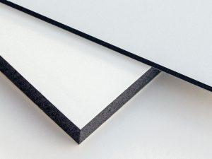 Kunststoffplatten Werbebau FriBoard PVC Hartschaumplatte Werbeplatte Kunststoff Standbau Werbetafeln Schauraum