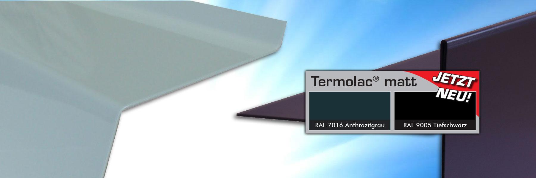 Slider Termolac Pulverbeschichtetes Kantbares Farbaluminiumblech Fassadenblech Termolac Matt 4