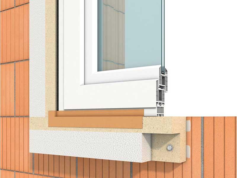 Tueranschluss Fripur Purenit Waermebrueckenfreier Anschluss Fensteranschluss Purenitsockel Waermedaemmung