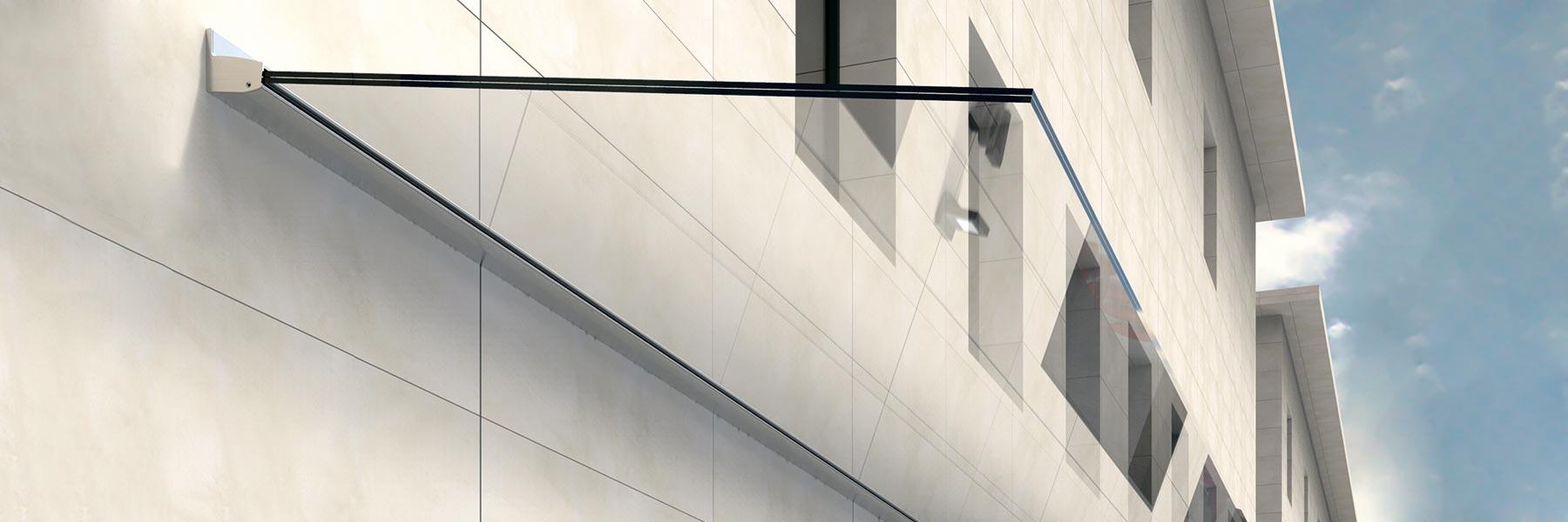 Slider Vordach Hauseingangsüberdachung Glasdach Fixpreis Kaufen Vordachaktion Eingangsüberdachung Glas
