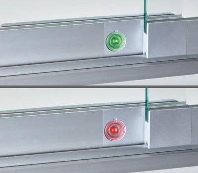 Optische Anzeige Des Verriegelungszustands E Cecura Elektroschloss