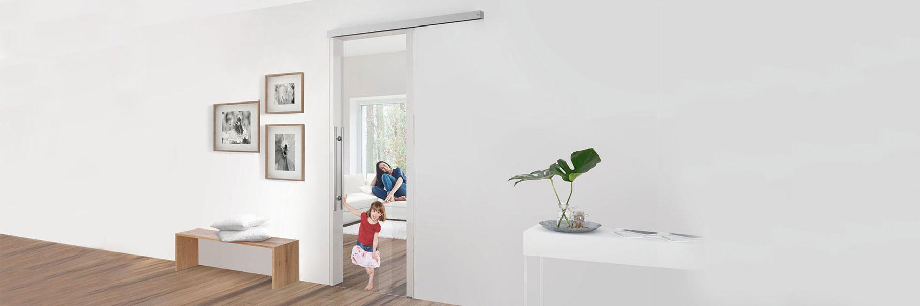 Slider Dormakaba Muto Comfort M60 Schiebetür Ganzglasschieben Glasschiebetür Glasanlagen Dorma