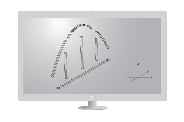 Exakte Planung Im Buero Digitalisierung 3D 2D Schablonendigitalisierung Leica