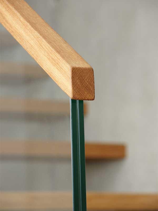 eine treppe aus glas und holz julius fritsche gmbh. Black Bedroom Furniture Sets. Home Design Ideas