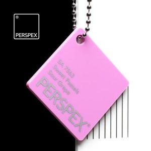 SA 7563 Sweet Pastels Perspex Kunststoff Acrylglas