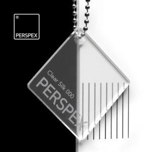 Perspex Silk und Satin Kunststoff Acrylglas