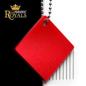 SK 4PY2 King Henry Red Perspex Kunststof Acrylglas