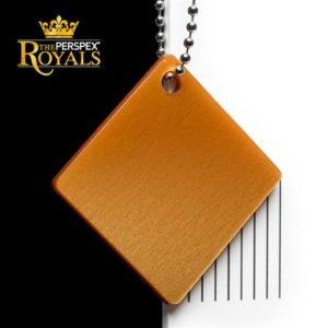 SK 5PY8 Queen Marie Gold Perspex Kunststoff Acrylglas