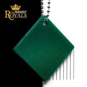SK 6PY0 Queen Isabella Green Perspex Kunststoff Acrylglas