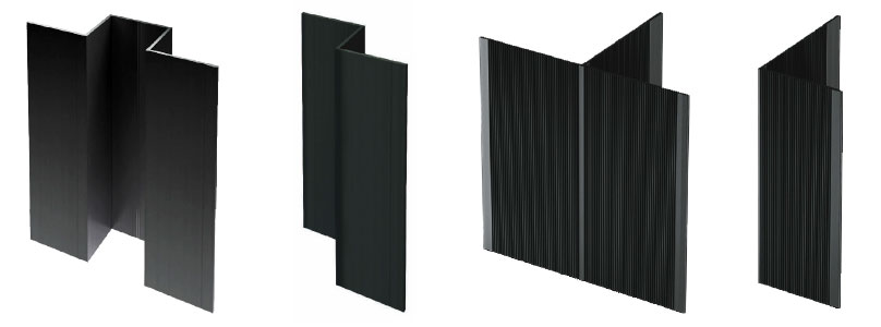 ENSAVE Light System Unterkonstruktion Kaufen Detail Fassadensystem Profile In Schwarz österreich