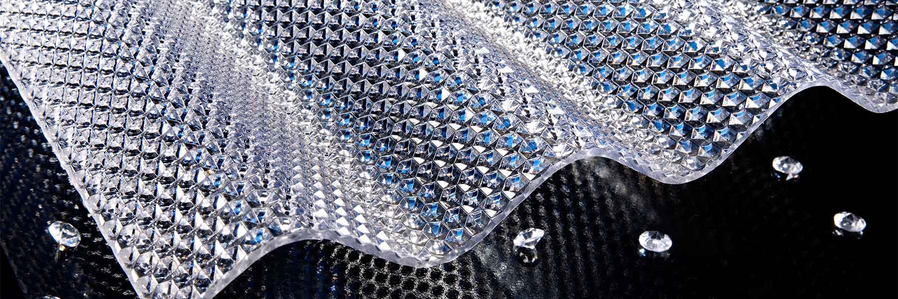 Slider Wellplatten Polycarbonat Fricarb Forte Wabe Farblos