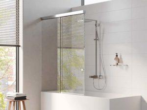 Vitris Aquant Duschbiebetür Ausziehbarer Spritzschutz Für Badewannen Kaufen