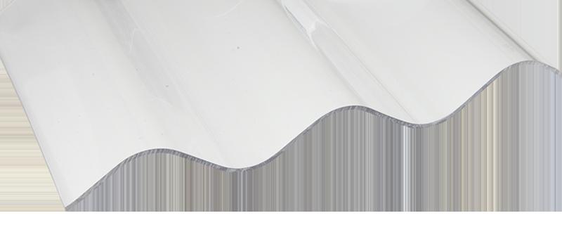 FriCarb Forte Wellplatte Glatt Klar Wellplatten Polycarbonat Schlagfest Kunststoff
