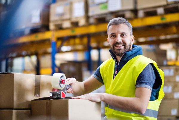 Job Lagerarbeit Logistik Kommissionierung