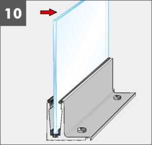 Montage10 Balardo Smart Railing Geländer Glasprofil