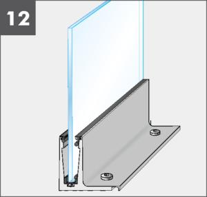 Montage12 Balardo Smart Railing Geländer Glasprofil