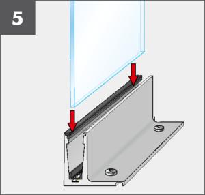 Montage5 Balardo Smart Railing Geländer Glasprofile