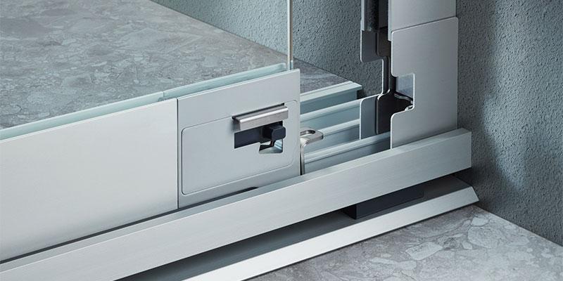 Vitris Atrivant 80 Balkonschiebewand Glasschiebetürbeschlag Mit Endlagendämpfung Und Gedämpfter Flügelmitnahme Balkonanlagen Terrassenanlagen Verriegelung
