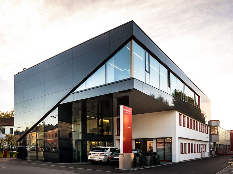 Fundermax Fassadenplatte HPL Hinterlüftete Fassade