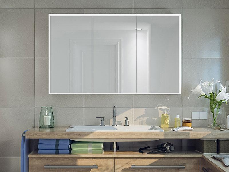 Fri Line Style 040 1 Badspiegel Spiegelschrank Beleuchtetl