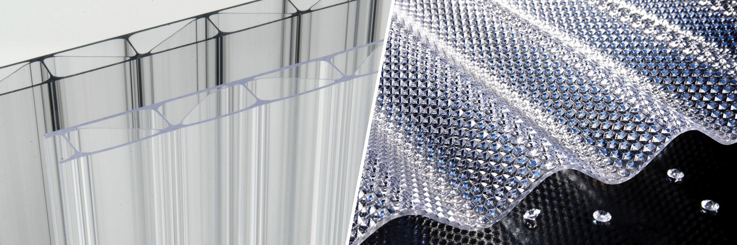 FriSun PC Premium Stegplatten Und FriCarb Forte Wellplatten Aus Polycarbonat Schlagfest Hagelsicher