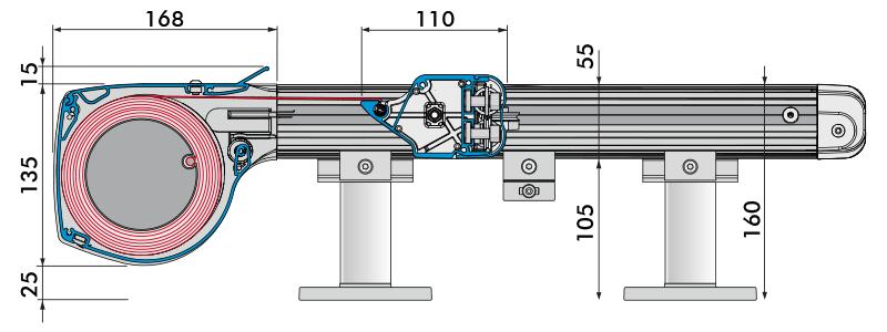 Querschnitt Aufdachmarkise Unterdachmarkise Ancona Markisen Nachträglich Einbauen Terrassendach Wintergarten 2