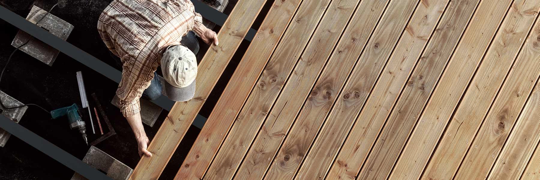 Slider Terrassenprofil Aluminium Unterkonstruktion Fuer Holzterrassen