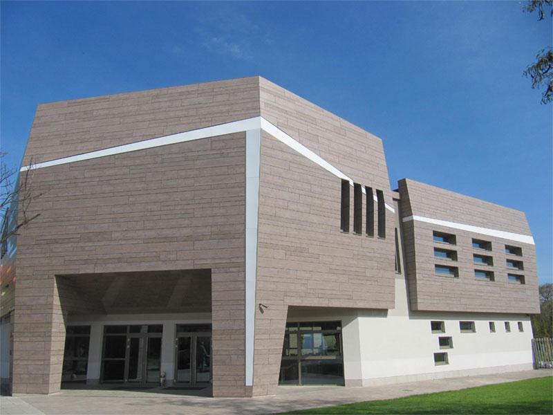 Fundermax Exterior Fassadenplatten Hinterlueftete Fassade Modern Design