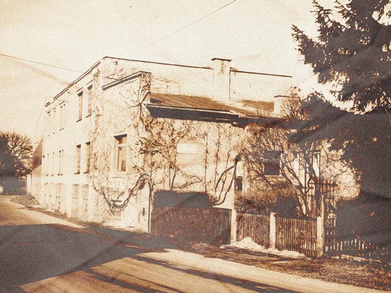 Plainstrasse 1907 Julius Fritsche GmbH