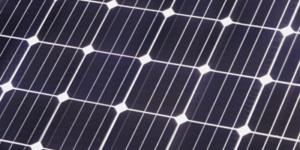 Detail Photovoltaik Glas Glas Vollbestueckt