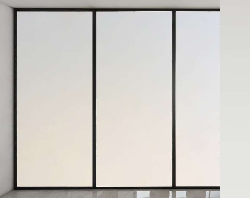 Mattschaltbares Glas Blickdicht Transparent FriView SFP Elektronisch Gesteuert Buero Blickdicht