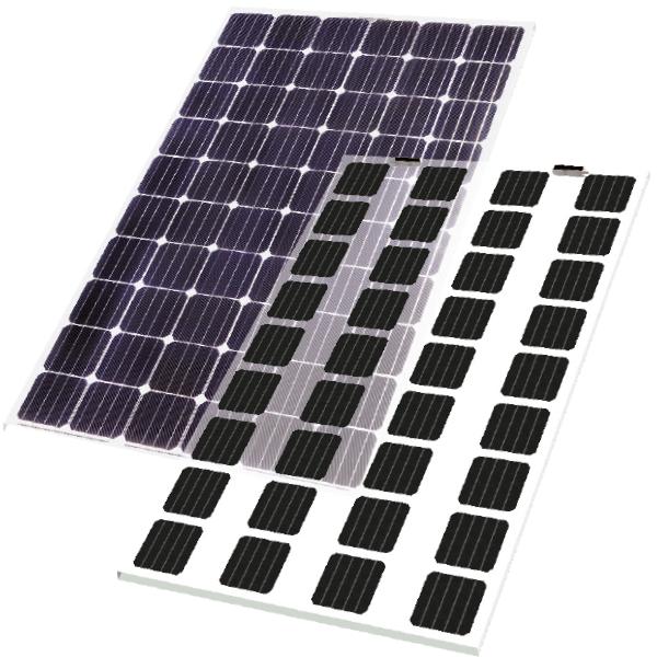 Photovoltaik Paneele FriSolar Rahmenlos Fassadensolarmodule Fassadenphotovoltaikmodule