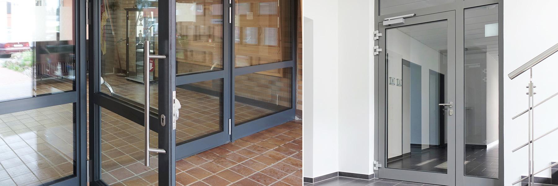 Slider Akotherm Brandschutzverglasung Brandschutzportal