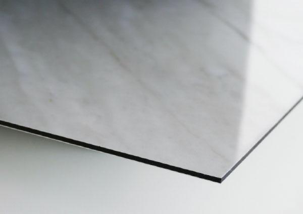 Oberflaeche Crystal Gloss Fribond Design Interior Aluminium Verbundplatte