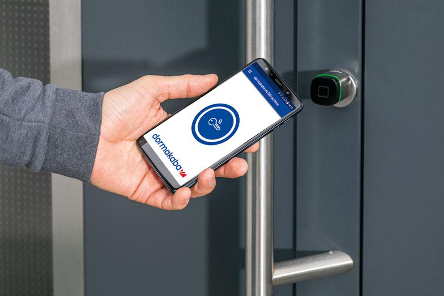 Zutrittskontrolle Evolo Smart Per Handy Smartphone Steuerung Nfc