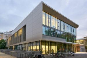 Future Art Lab Wien Fassadenplatten Etalbond Fr Hinterlueftete Fassaden Gebaudegestaltung Design